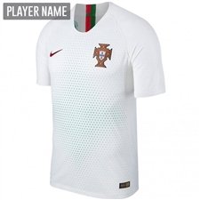 Nike Portugal Away Vapor Match Jersey '18-'19 (White/Gym Red)