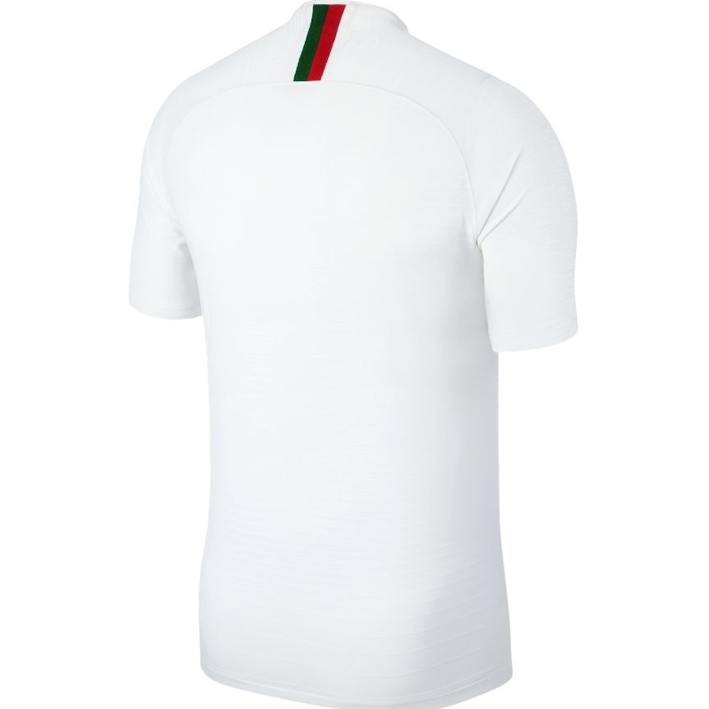 Nike Portugal Away Vapor Match Jersey  18- 19 (White Gym Red)  26dc56068
