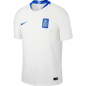 Nike Greece Home Stadium Jersey '18-'19 (White/Hyper Cobalt)