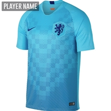 Nike Netherlands Away Stadium Jersey '18-'19 (Polarized Blue/Deep Royal Blue)
