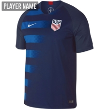Nike USA Men's Away Stadium Jersey '18-'19 (Midnight Navy/Blue Nebula/White)