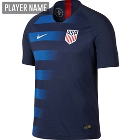 Nike USA Men's Away Vapor Match Jersey '18-'19 (Midnight Navy/Blue Nebula/White)