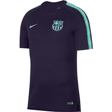 Nike FC Barcelona Squad Top (Purple Dynasty/Hyper Turquoise)