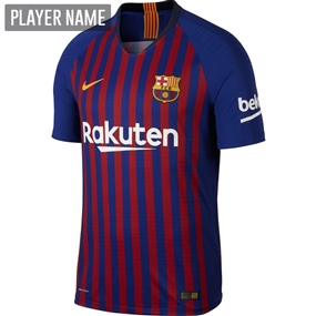 Nike FC Barcelona Home Vapor Match Jersey '18-'19 (Deep Royal Blue/University Gold)