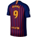 Nike FC Barcelona 'SUAREZ 9' Home Vapor Match Jersey '18-'19 (Deep Royal Blue/University Gold)