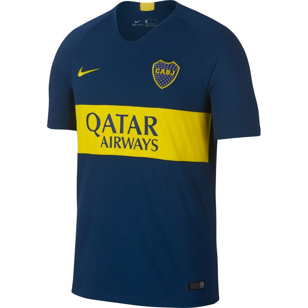 size 40 5f736 30334 Nike Boca Juniors Home Stadium Jersey '18-'19 (Brave Blue/Tour Yellow)