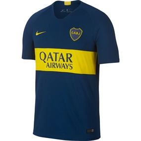 Nike Boca Juniors Home Stadium Jersey '18-'19 (Brave Blue/Tour Yellow)