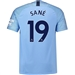 Nike Manchester City 'SANE 19' Home Stadium Jersey '18-'19 (Field Blue/Midnight Navy)