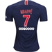 Nike Paris St. Germain 'MBAPPE 7' Home Stadium Jersey '18-'19 (Midnight Navy/White)