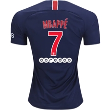 Nike Paris St. Germain 'MBAPPE 29' Home Stadium Jersey '18-'19 (Midnight Navy/White)