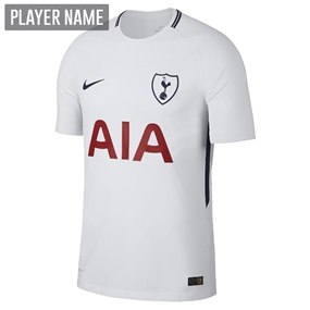 Nike Tottenham Vapor Match Home '17-'18 Soccer Jersey (White/Binary Blue)