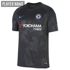 Nike Chelsea Third '17-'18 Soccer Jersey (Anthracite/Omega Blue)