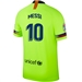 Nike FC Barcelona 'MESSI 10' Away Vapor Match Jersey '18-'19 (Volt/Deep Royal Blue)