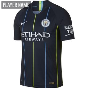 Nike Manchester City Away Vapor Match Jersey '18-'19 (Dark Obsidian/White)