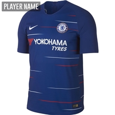 Nike Chelsea Home Vapor Match Jersey '18-'19 (Rush Blue/White)