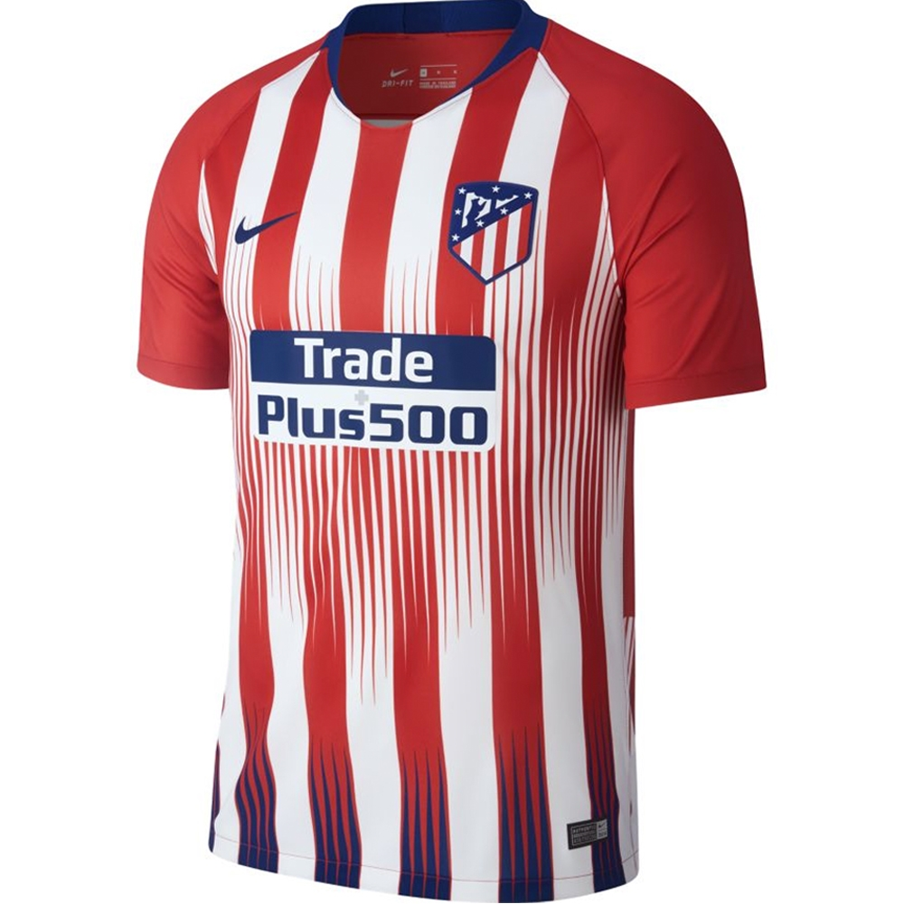 abb40104240 Nike Atletico Madrid Home Stadium Jersey '18-'19 (Sport Red/White ...