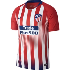Nike Atletico Madrid Home Stadium Jersey '18-'19 (Sport Red/White/Deep Royal Blue)