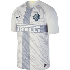 Nike Inter Milan Third Stadium Jersey '18-'19 (Vast Grey/Thunder Blue)