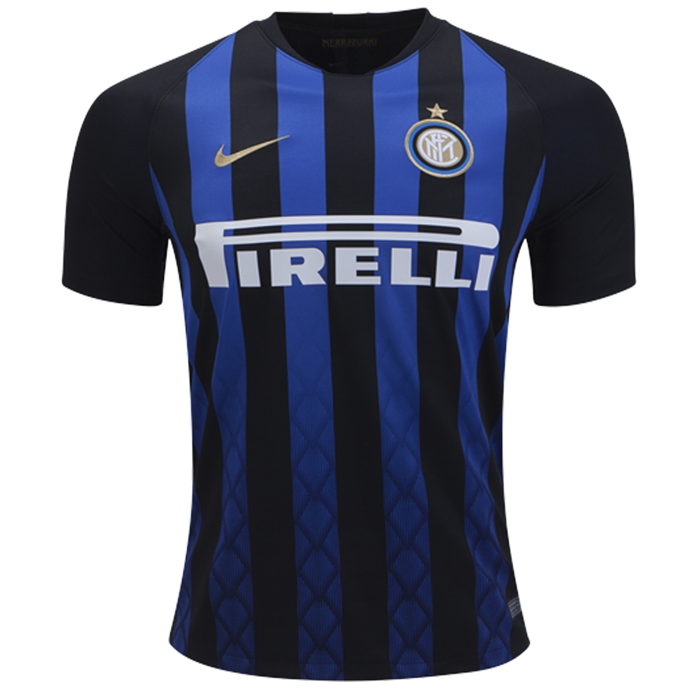 info for aabb8 dfbc2 Nike Inter Milan Home Stadium Jersey '18-'19 (Black/Truly Gold)