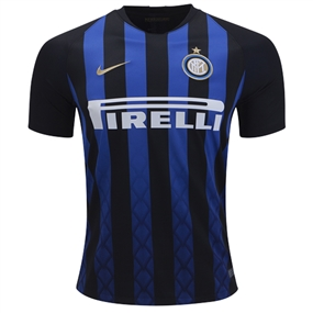 Nike Inter Milan Home Stadium Jersey '18-'19 (Black/Truly Gold)