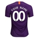 Nike Manchester City 'CUSTOM' Third Stadium Jersey '18-'19 (Night Purple)