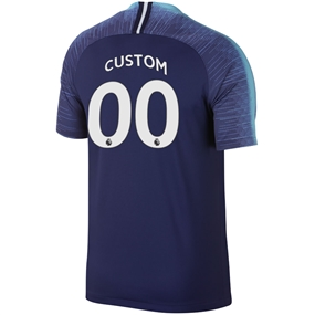 Nike Tottenham 'CUSTOM' Away Stadium Jersey '18-'19 (Binary Blue/White)
