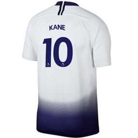 Nike Tottenham 'KANE 10' Home Stadium Jersey '18-'19 (White/Binary Blue)