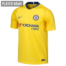 Nike Chelsea Away Stadium Jersey '18-'19 (Tour Yellow/Rush Blue)