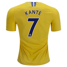 Nike Chelsea 'KANTE 7' Away Stadium Jersey '18-'19 (Tour Yellow/Rush Blue)
