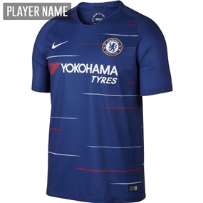 Nike Chelsea Home Stadium Jersey '18-'19 (Rush Blue/White)