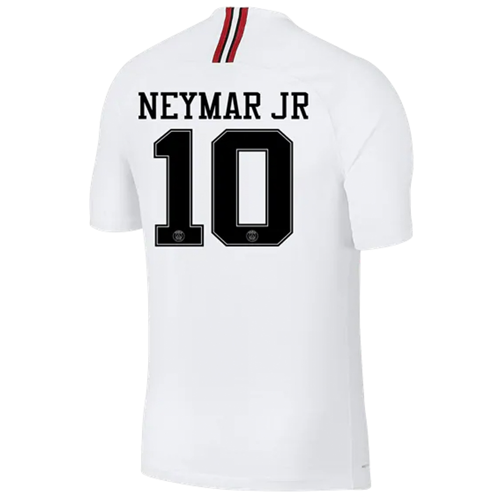 meet 25408 65104 Nike PSG x Jordan 'NEYMAR JR 10' Third Stadium Jersey '18-'19 (White/Black)