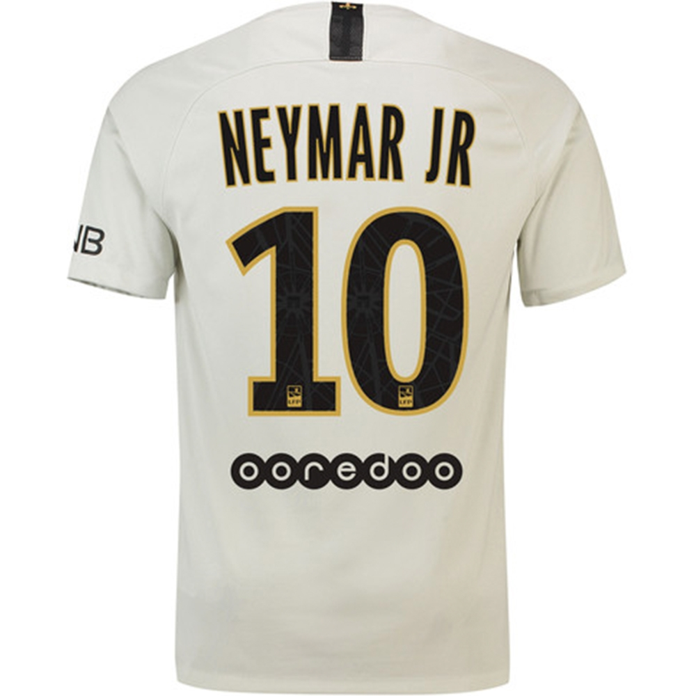 da5c4c7fb Nike Paris St. Germain  NEYMAR JR 10  Away Stadium Jersey  18- 19 ...