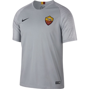 Nike A.S. Roma Away Stadium Jersey '18-'19 (Wolf Grey/Black)