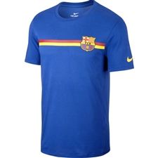 Nike FC Barcelona T-Shirt (Deep Royal Blue)