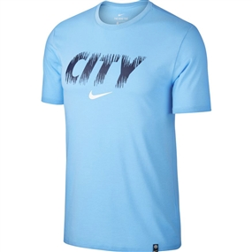 Nike Manchester City FC T-Shirt (Field Blue)