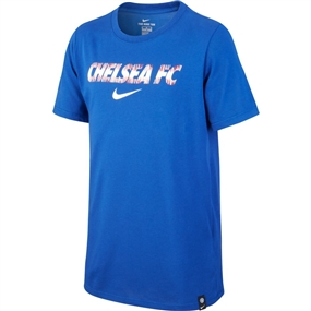 Nike Youth Chelsea FC T-Shirt (Rush Blue)