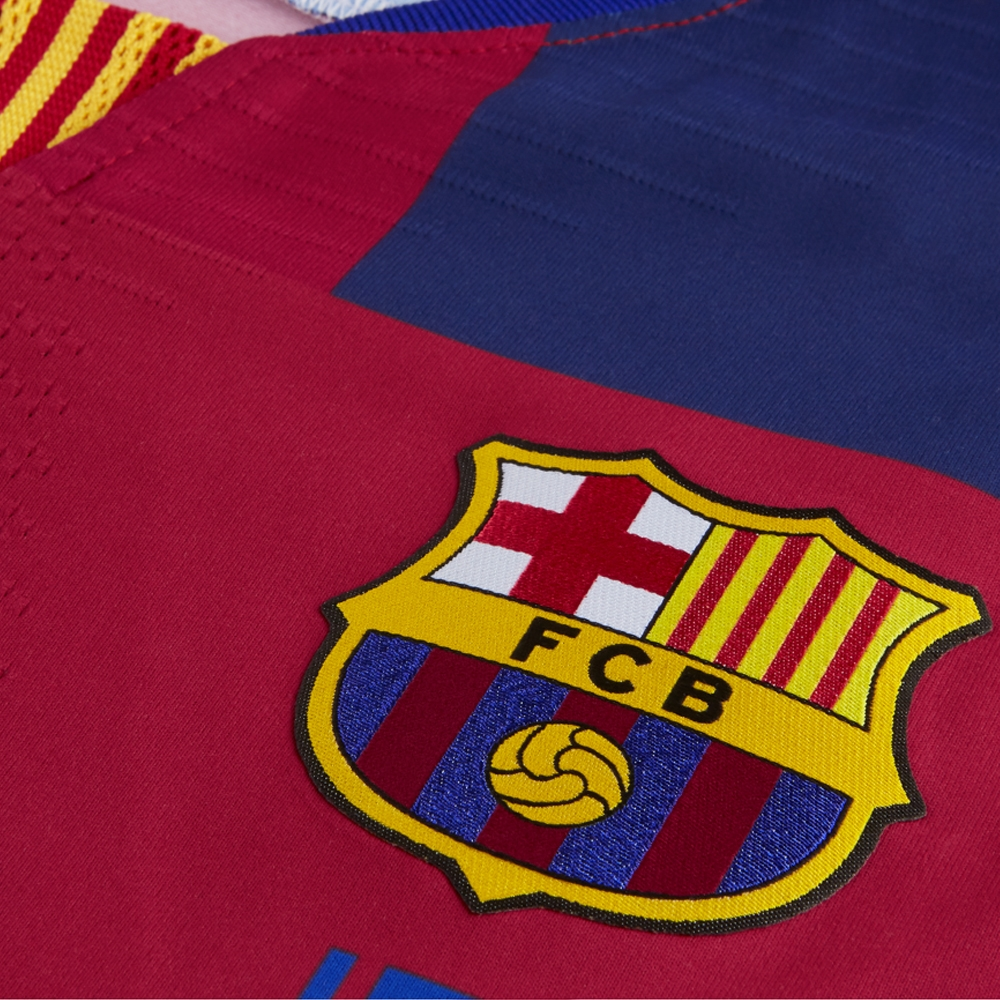 promo code f28ae 61af3 Nike 20th Anniversary FC Barcelona Vapor Match Jersey (Deep Royal  Blue/Noble Red/Tour Yellow)