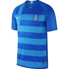 Nike Greece Away Stadium Jersey '18-'19 (Hyper Cobalt/White)