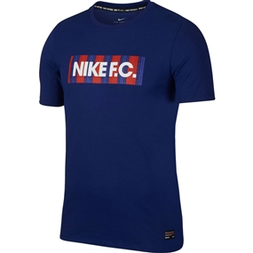 Nike F.C. Dri-Fit T-Shirt (Deep Royal Blue)