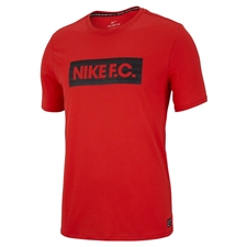 Nike Dry F.C. T-Shirt (Light Crimson)