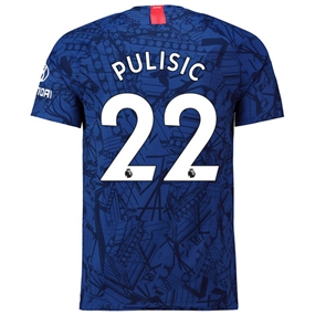 Nike Chelsea 'PULISIC 22' Home Vapor Match Jersey '19-'20 (Rush Blue/White)