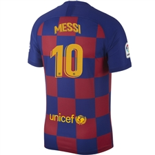 Nike FC Barcelona 'MESSI 10' Home Vapor Match Jersey '19-'20 (Deep Royal Blue/Varsity Maize)