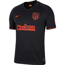 Nike Atletico Madrid Away Stadium Jersey '19-'20 (Black/Challenge Red)