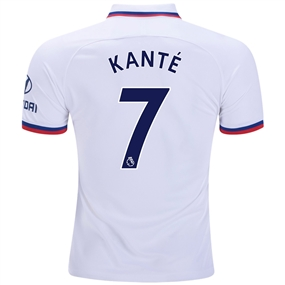 Nike Chelsea 'KANTE 7' Away Stadium Jersey '19-'20 (White/Rush Blue)