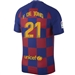 Nike FC Barcelona 'F. DE JONG 21' Home Stadium Jersey '19-'20 (Deep Royal Blue/Varsity Maize)
