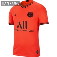Nike PSG x Jordan Away Stadium Jersey '19-'20 (Infrared 23/Black)