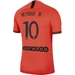 Nike PSG x Jordan 'NEYMAR JR 10' Away Stadium Jersey '19-'20 (Infrared 23/Black)