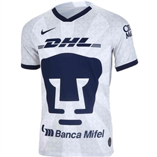 Nike Pumas UNAM Home Stadium Jersey '19-'20 (White/Truly Gold/Obsidian)