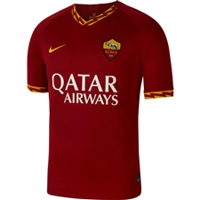 Nike A.S. Roma Home Stadium Jersey '19-'20 (Team Crimson/University Gold)