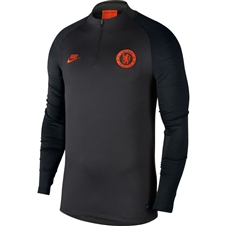 Nike Chelsea FC Strike Drill Top (Anthracite/Black/Rush Orange)
